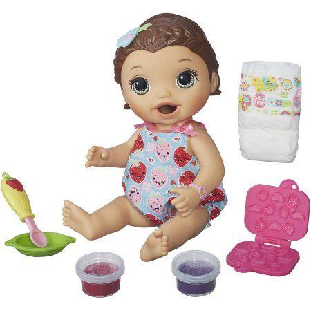 Ba Snackin Lily Md Skin Walmart Com Best Baby Doll Baby Alive Dolls Super Snacks
