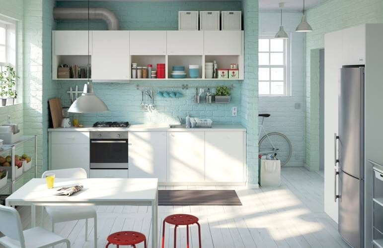 Ikea white kitchen - 2016 Kitchens
