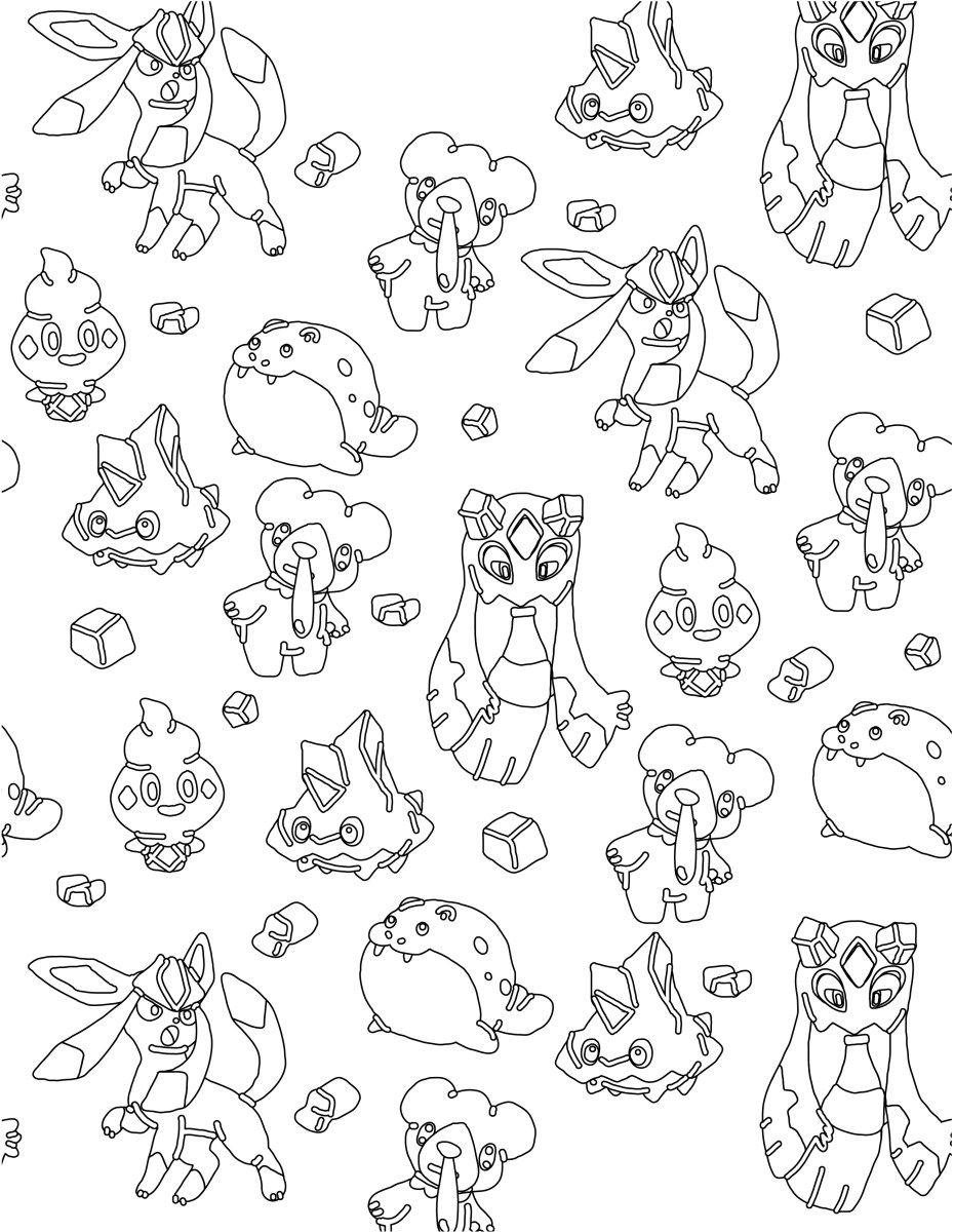 Pokemon glace imprimer et colorier coloriage pour adulte gratuit free adult coloring pages - Dessin de pokemon a imprimer ...