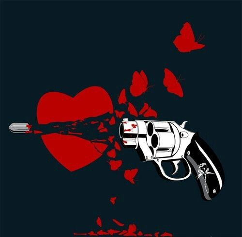 Coeur bris heartless pinterest - Dessin de coeur brise ...