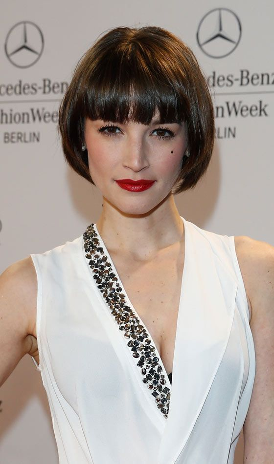 image result for short bob with bangs french style crowning