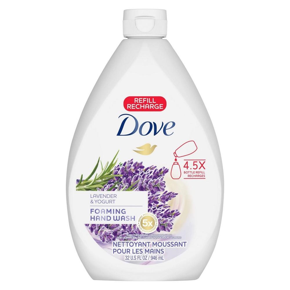 Dove Relaxing Lavender Liquid Hand Wash Refill 32oz Foaming