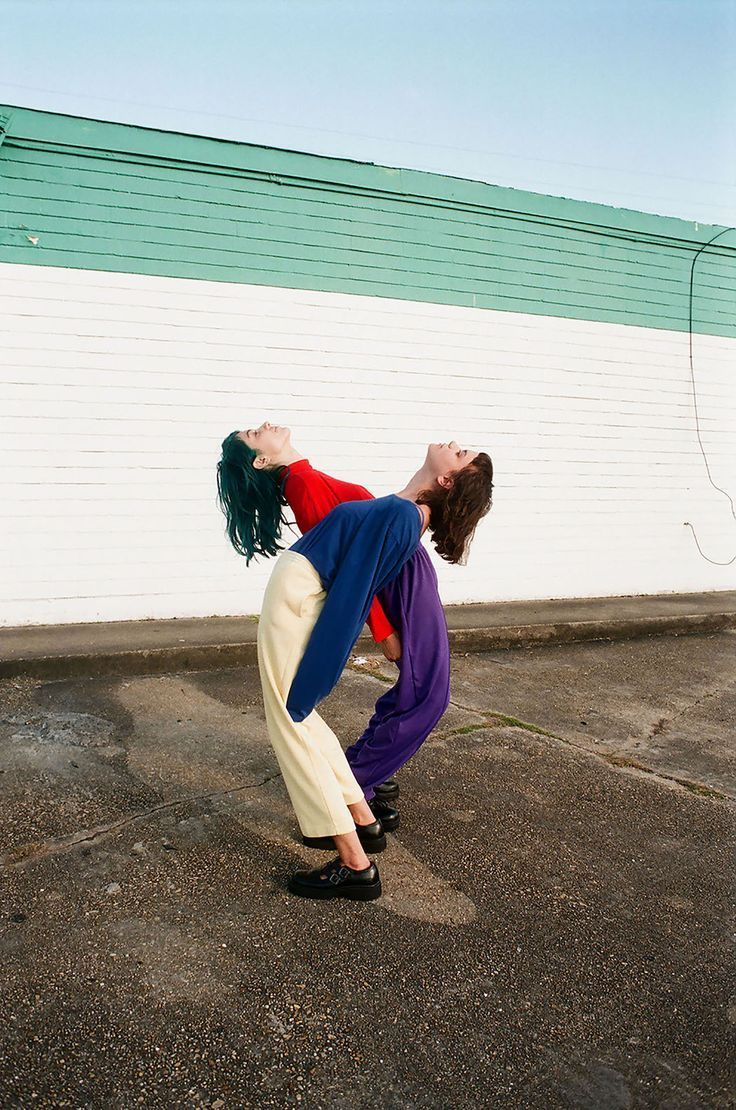 Colored Garments In Contortion By Arielle Bobb-Willis #In #Garments #Bobb-Willis