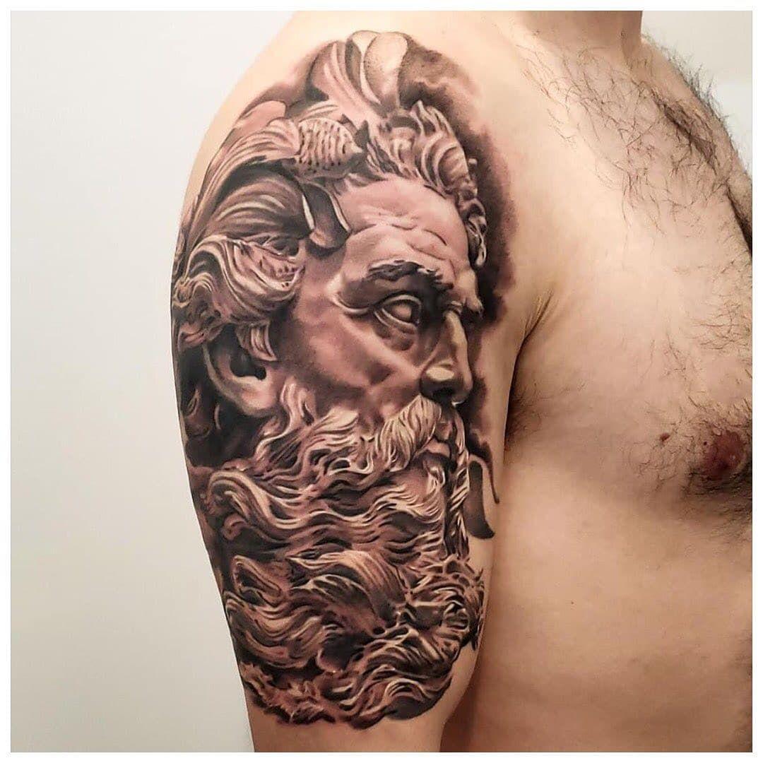 101 amazing poseidon tattoo ideas you need to see