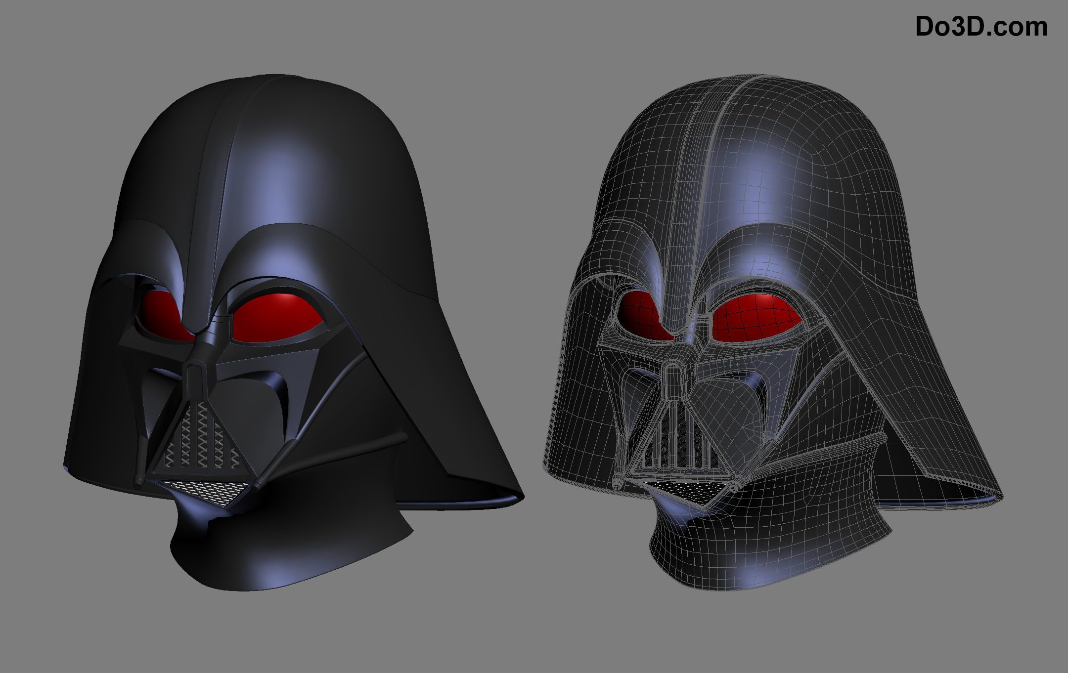3d Printable Model Darth Vader Helmet And Body Armor Suit Star Wars
