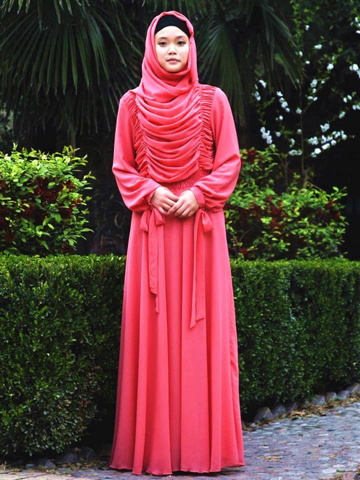 Long Sleeve Maxi dress. Modest dress. Muslimah fashion ...