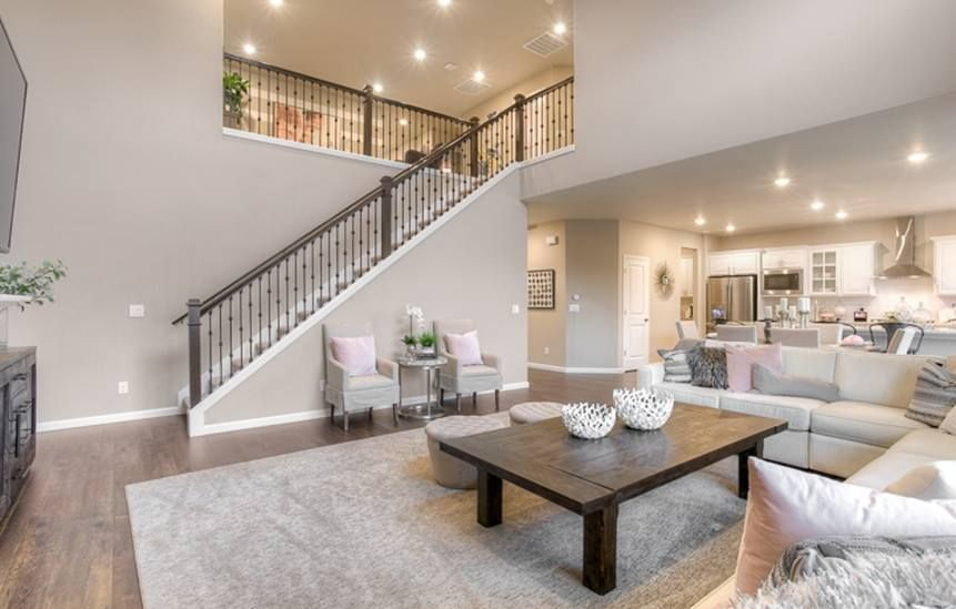 Would You Want This Staircase In Your Living Space Staircase In Living Room House Design Home Interior Design #staircase #in #living #room #ideas