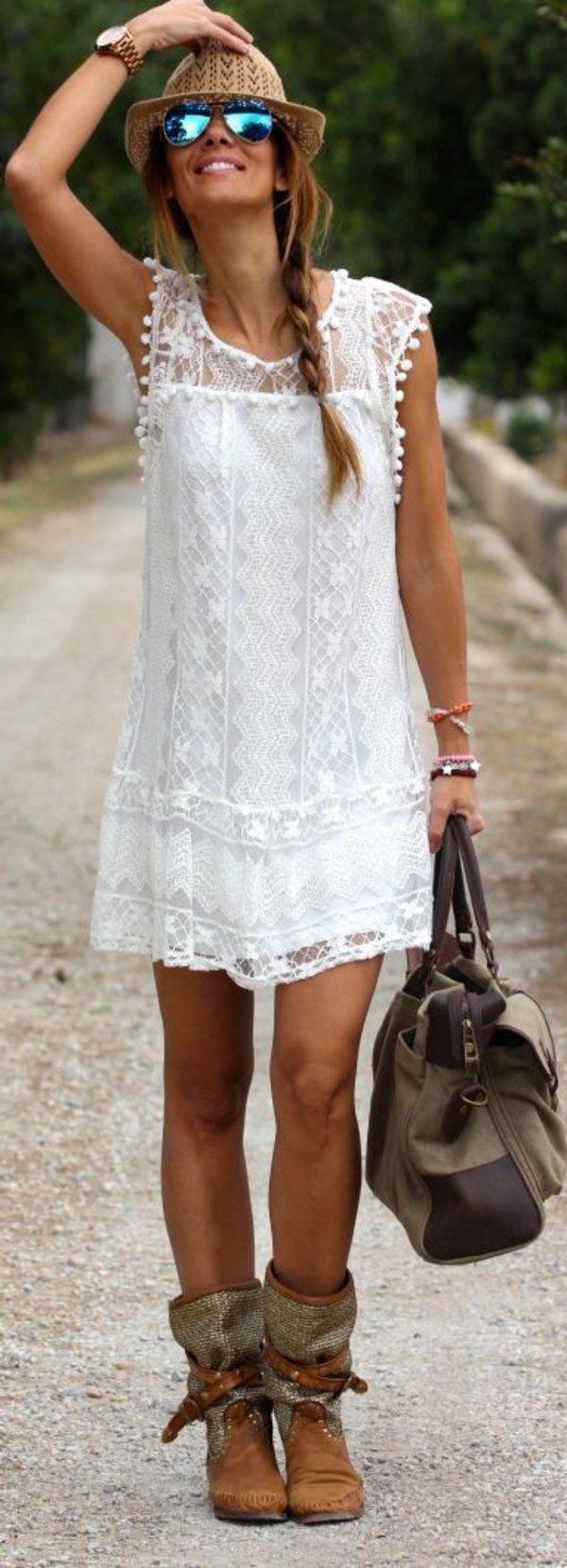 Comment portet la robe hippie chic robe hippie chic - Robe hippie chic dentelle ...