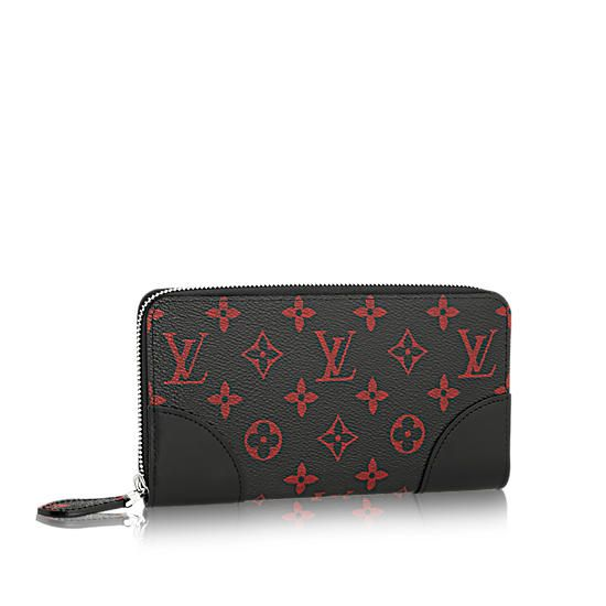 360a5c5b511f Louis Vuitton Monogram Infrarouge Insolite Zippy Wallet