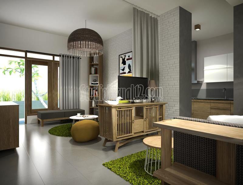 Desain Rumah Tropis Modern Minimalis Gaya Resort Atau