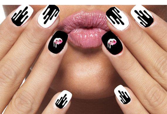 Image result for Kylie Jenner lip kit kylie nail art