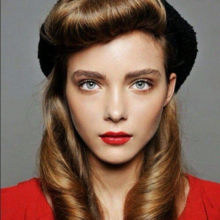love modern rockabilly hair