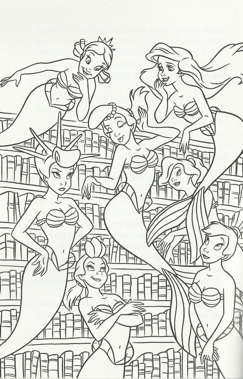 The Little Mermaid Photo Mermaid Coloring Pages Disney Princess Coloring Pages Cute Coloring Pages [ 1280 x 823 Pixel ]