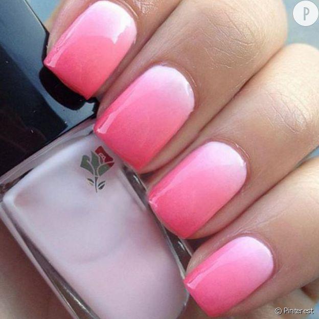 Les plus beaux ombré nails repérés sur Pinterest | Pinterest ...