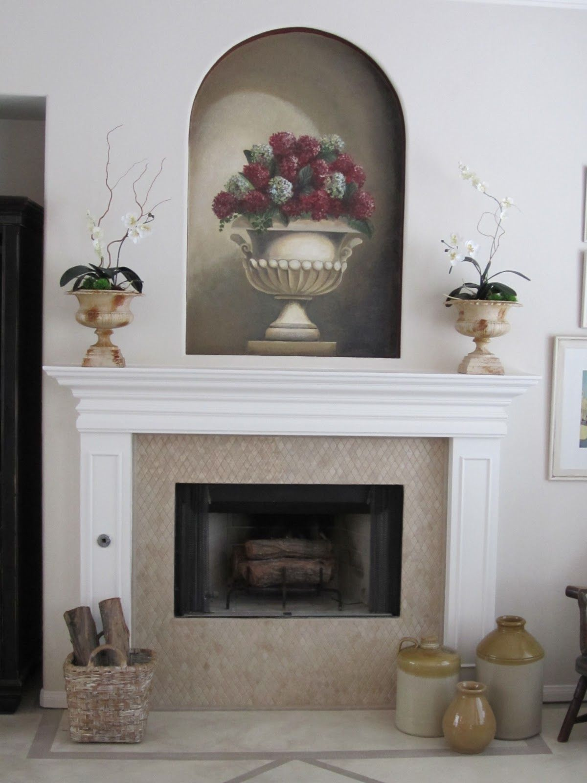 Fireplace Makeover Fireplace Makeover Pinterest Fireplace
