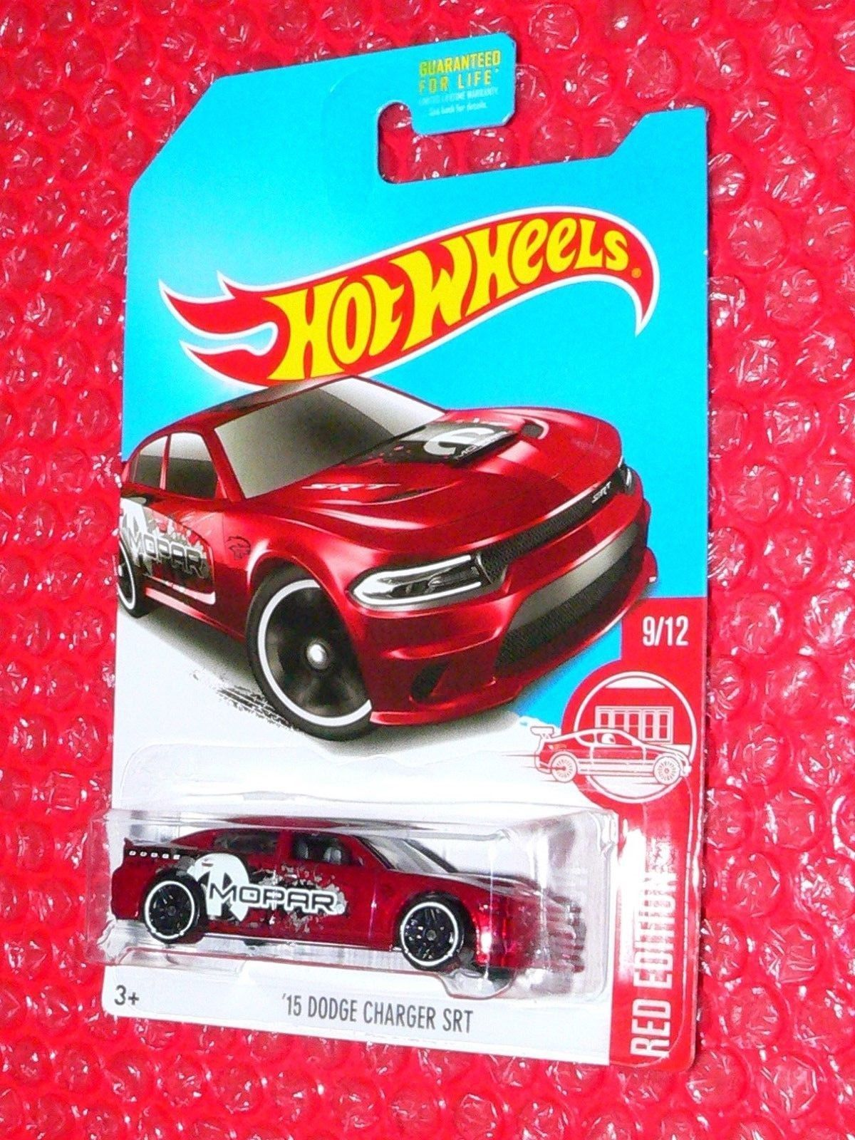 $2 99 2017Hot Wheels 15 Dodge Charger Srt Red Edition Tar