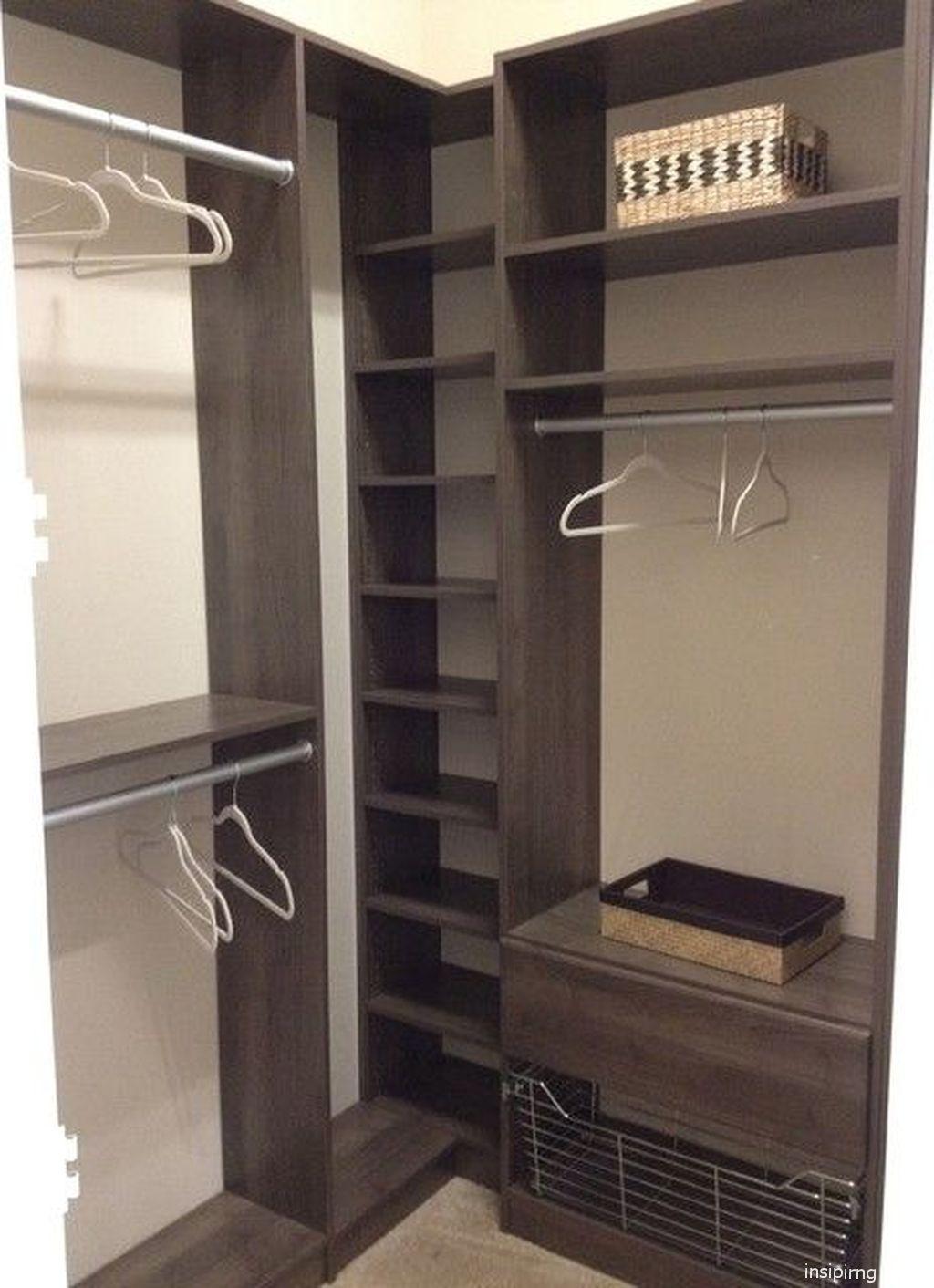 109 Genius Small Closet Ideas Corner Wardrobe Closet Corner Closet No Closet Solutions