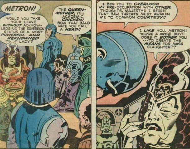 Darkseid Makes New Gods Metron Heel To Queen Heggra As General Steppenwolf Joins In New Gods Darkseid His Eyes