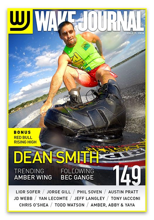 July 7th, 2014 - Wake Journal 149 is here with Dean Smith on the cover! Download the Wake Journal App, subscribe and get all 40 issues for just $1.99! http://www.wkjr.nl/app
