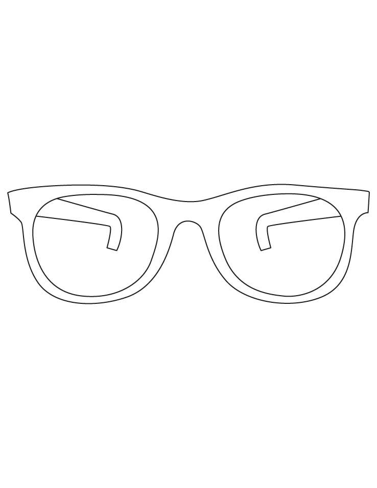 Sunglasses Coloring Pages Coloring Pages Coloring Pages