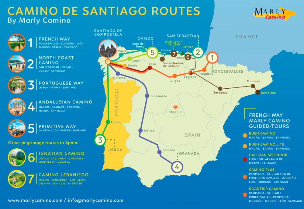 How To Choose The Right Camino De Santiago Route For You In 2020 Camino De Santiago Route Camino De Santiago Camino De Santiago Trail