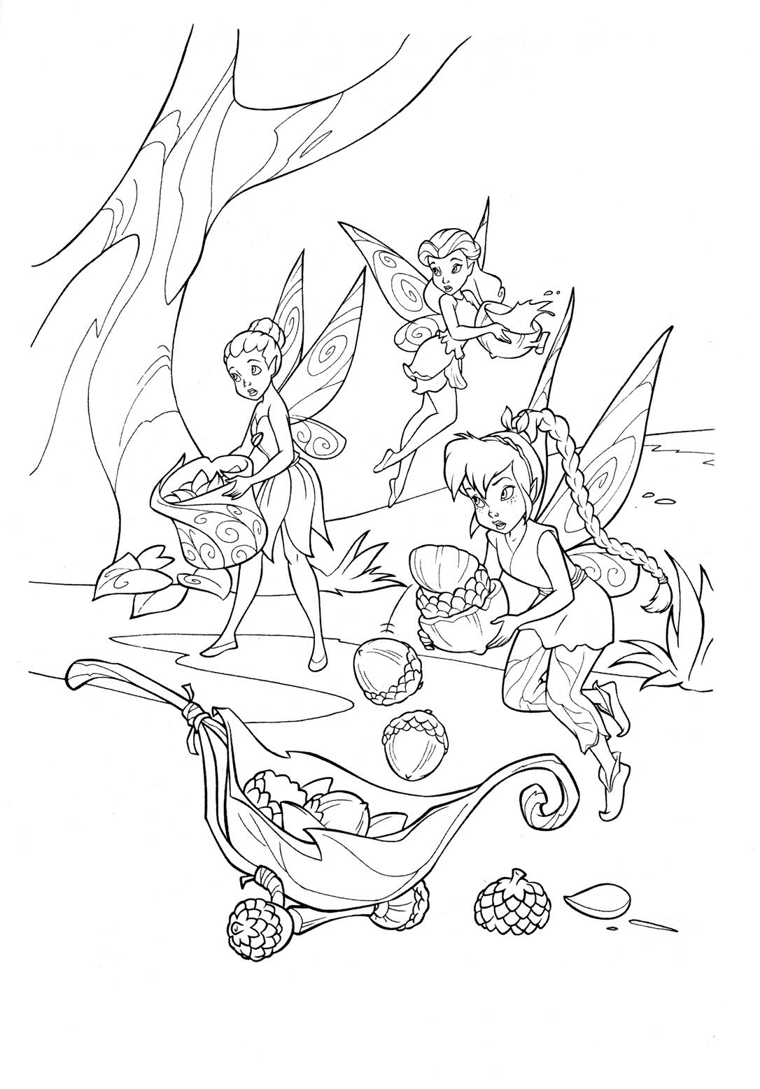 Disney Fairies Coloring Pages For Kids Jpg 1086 1557 Fairy Coloring Fairy Coloring Pages Tinkerbell Coloring Pages [ 1557 x 1086 Pixel ]
