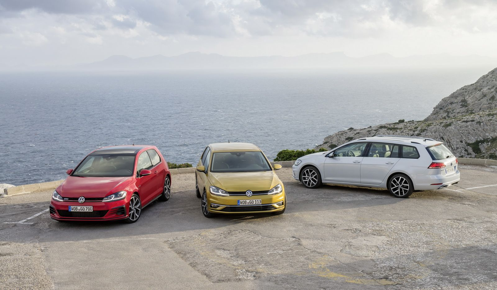 Facelifted VW Golf Goes On Sale In UK From £17,625