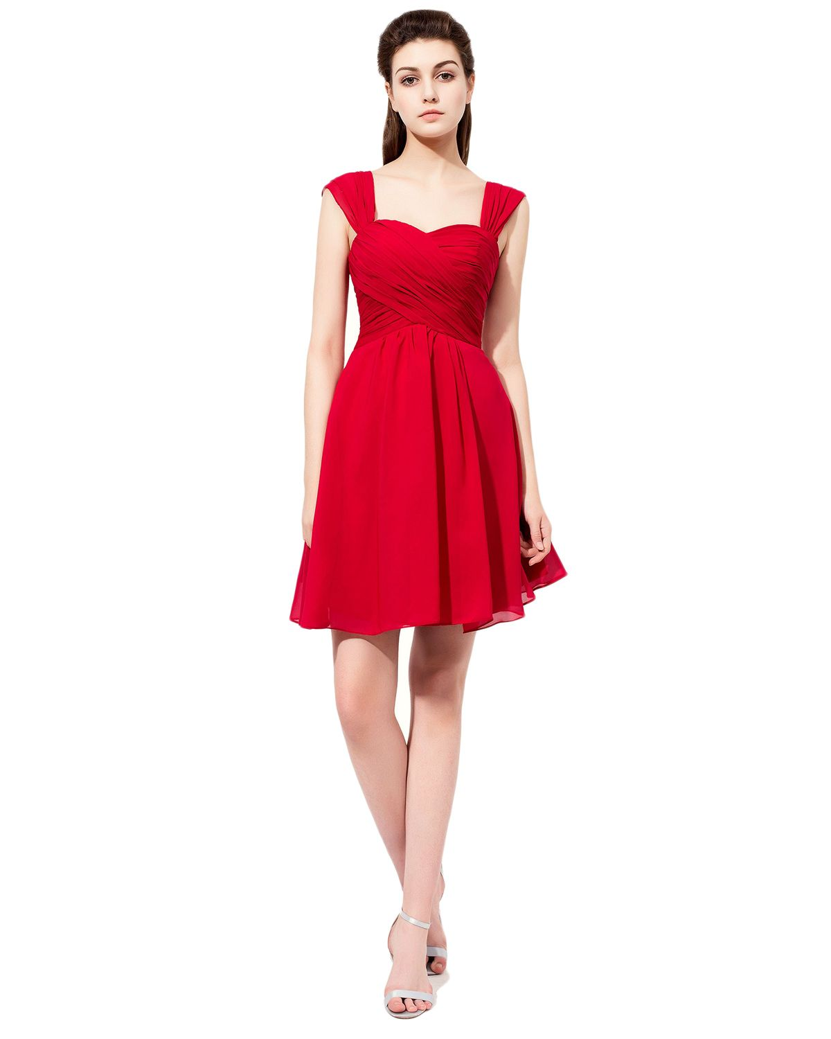 Bridesmaid dress short homecoming dressesred homecoming dress