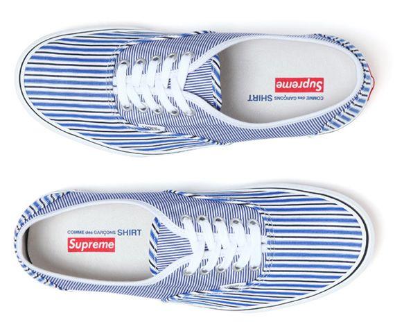 Supreme x Comme des Garçons x Vans - SneakerNews.com | Comme des ...