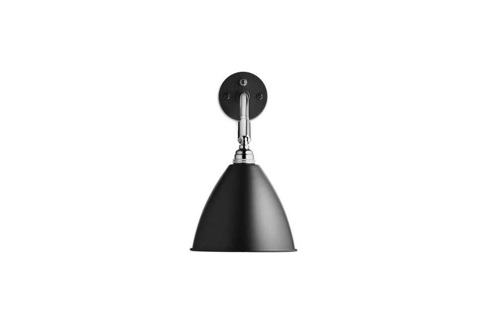 Bestlite Black And Chrome Wall Sconce