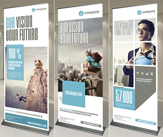 Elegant 20 Creative Vertical Banner Design Ideas