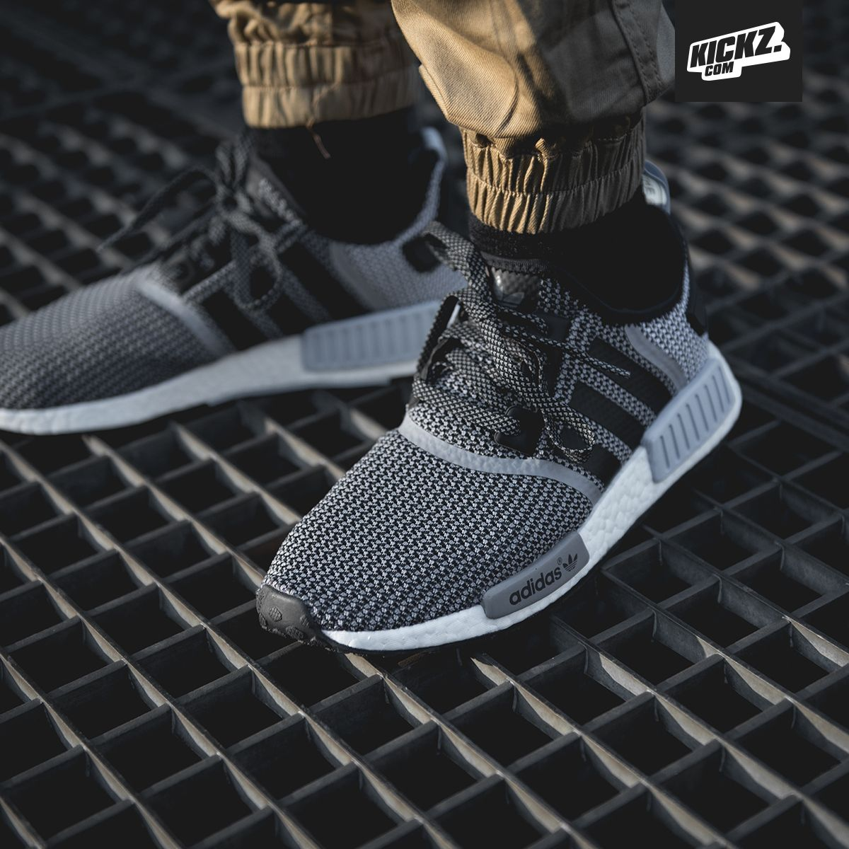The adidas NMD R1 core black/cool blue
