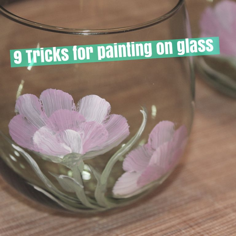 9 Tricks for painting on glass is part of Glass painting, Painting glass jars, Painting glassware, Painting on glass windows, Glass, Glass art - By Nicole Tinkham Glass painting is huge right now and with the holiday's right around the corner, they make excellent personalized gifts  But painting on glass can be tricky when you haven't done …