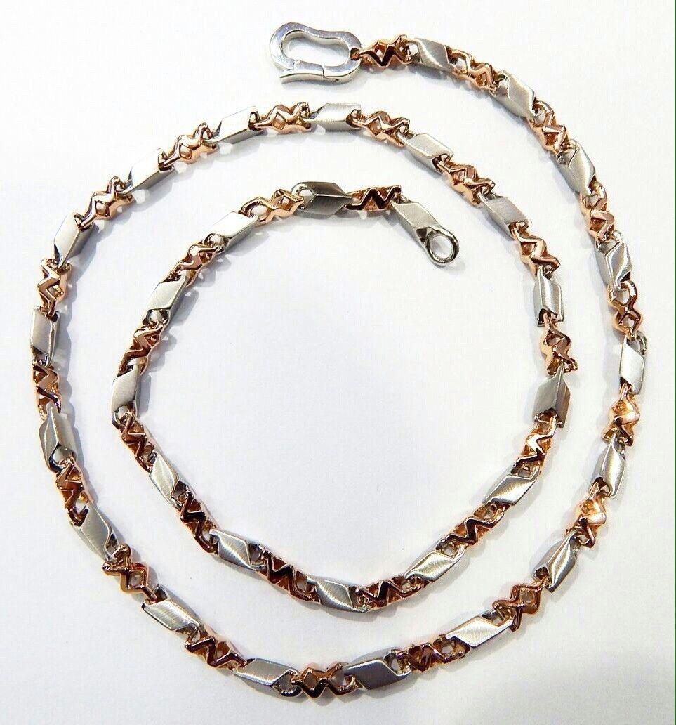 29cb82b42 #platinum & #rosegold #fusion #chain for #men #mensjewelry #platinumlove