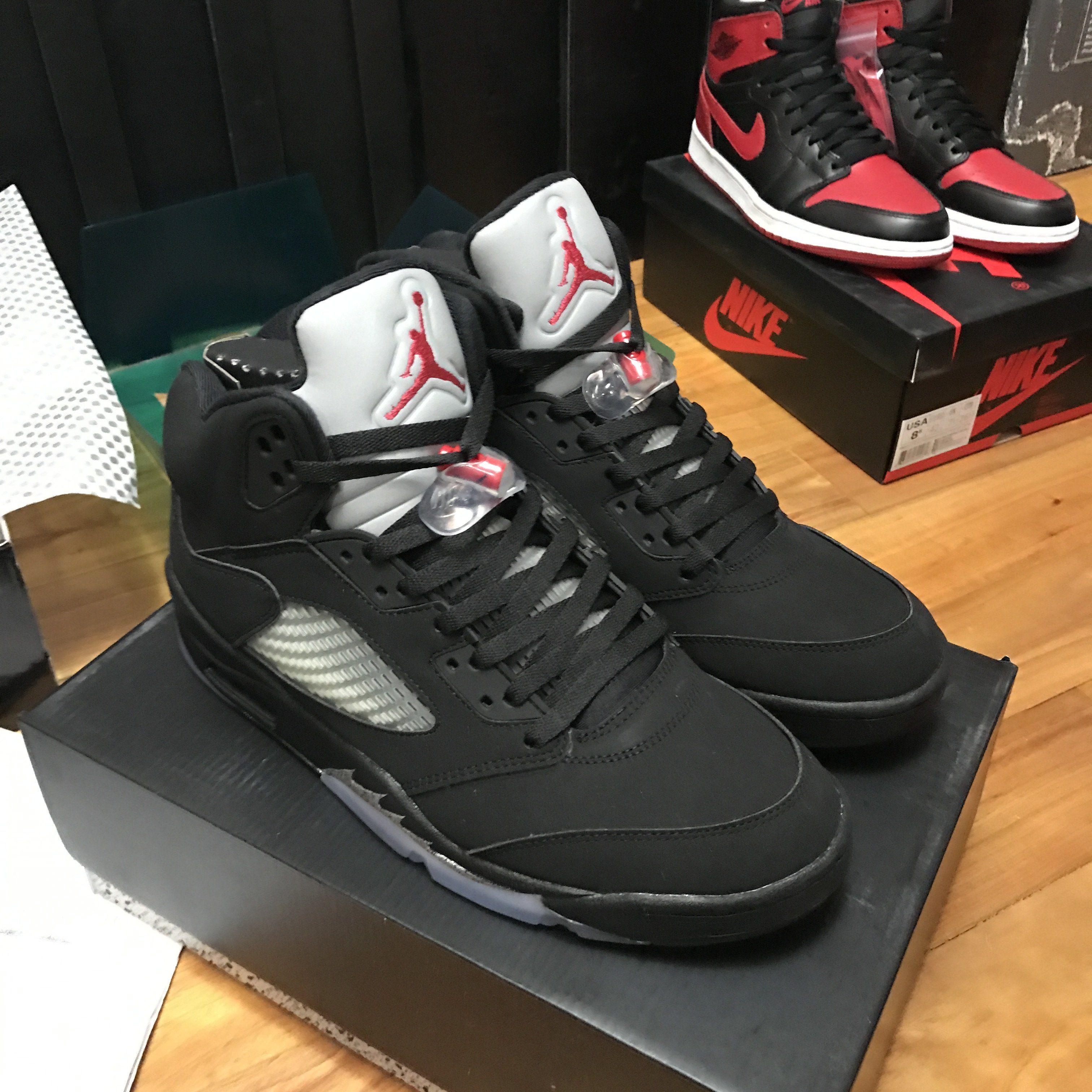 half off 5616d bede3 Jordan 5 Retro Black Metallic (2016) 845035-003