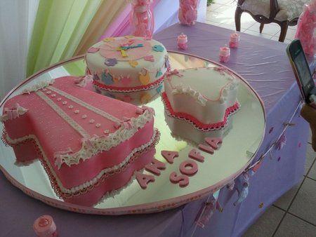 17 Increíbles Pasteles Para Baby Shower De Niña