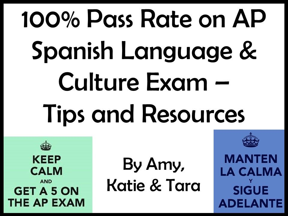 Resources From Our 2018 Ap Spanish Presentation Ap Spanish