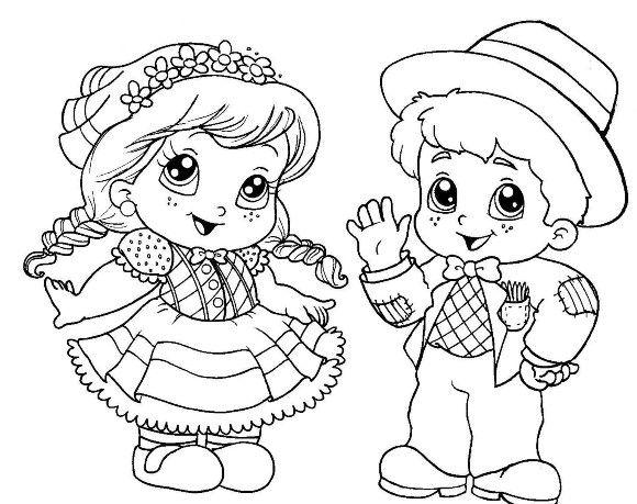 Desenhos De Sao Joao Para Imprimir Com Imagens Festa Junina