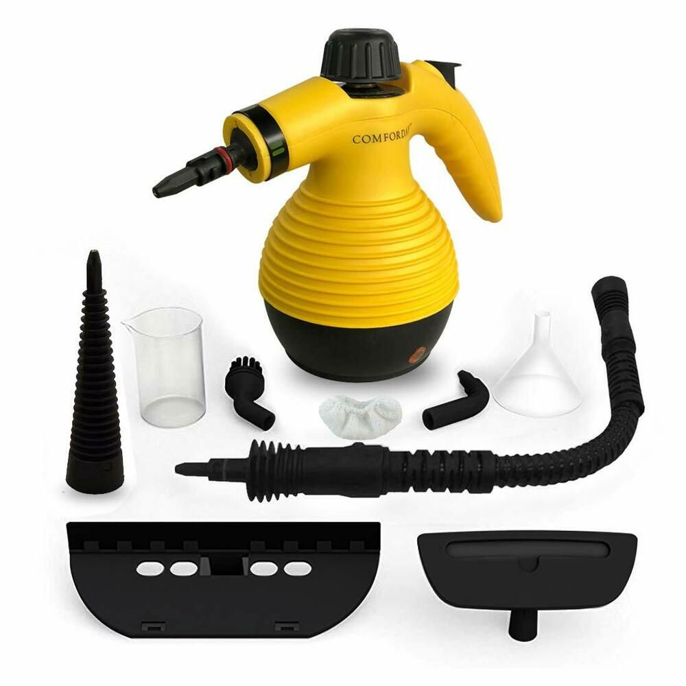 Pressurized Steam Cleaner Stain Removal Curtains Crevasses
