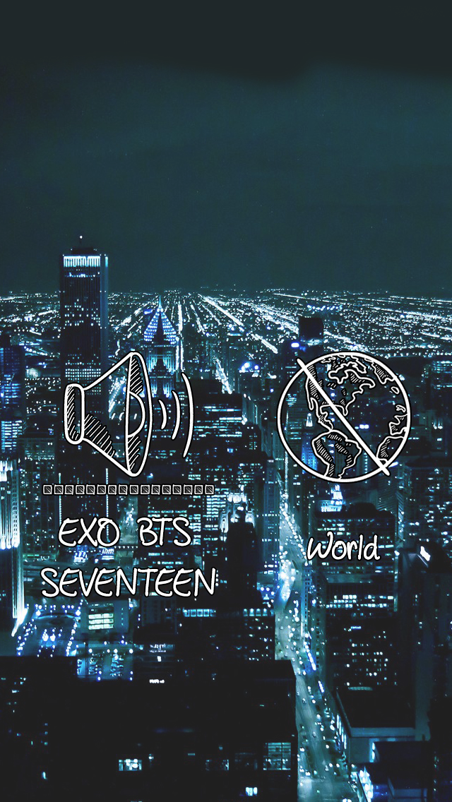 Kpop Iphone Wallpaper Exo Bts Seventeen Kpop Memes Pinterest