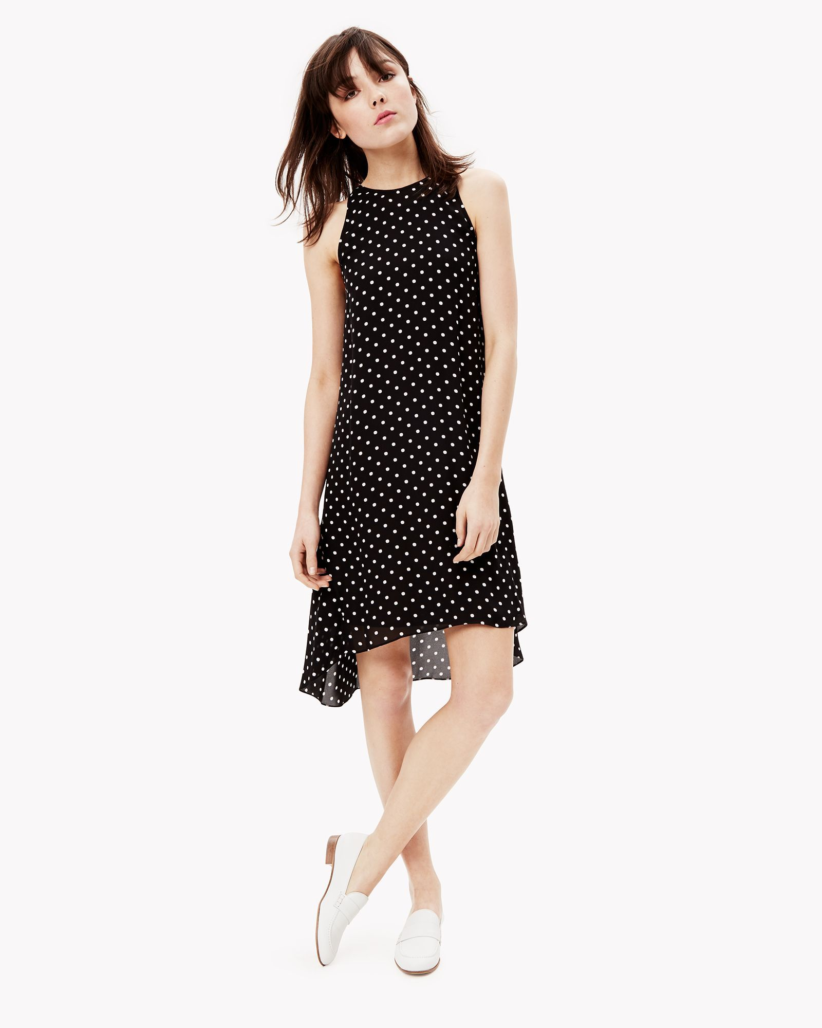 8e67eb826f8 Theory Silk Dot Print Dress Work Dresses, Casual Dresses, Theory, Casual  Frocks,