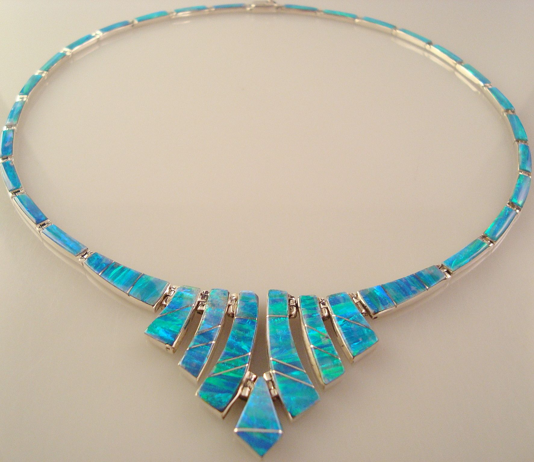 and necklace blue e r opal pendant sapphire i product jewellery