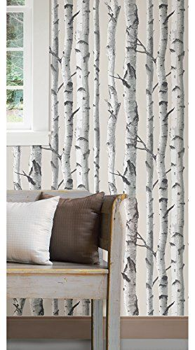 Birch Tree Peel And Stick Wallpaper In The Uae See Prices Reviews And Buy In Dubai Abu Dhabi Sharjah Tools Birch Tree Wallpaper Tree Wallpaper Nuwallpaper