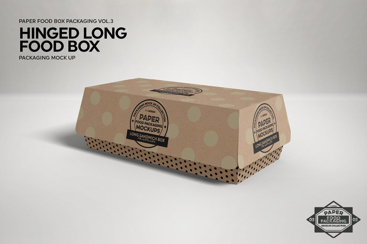 Download Vol 3 Food Box Packaging Mockups Food Box Packaging Packaging Mockup Food Packaging