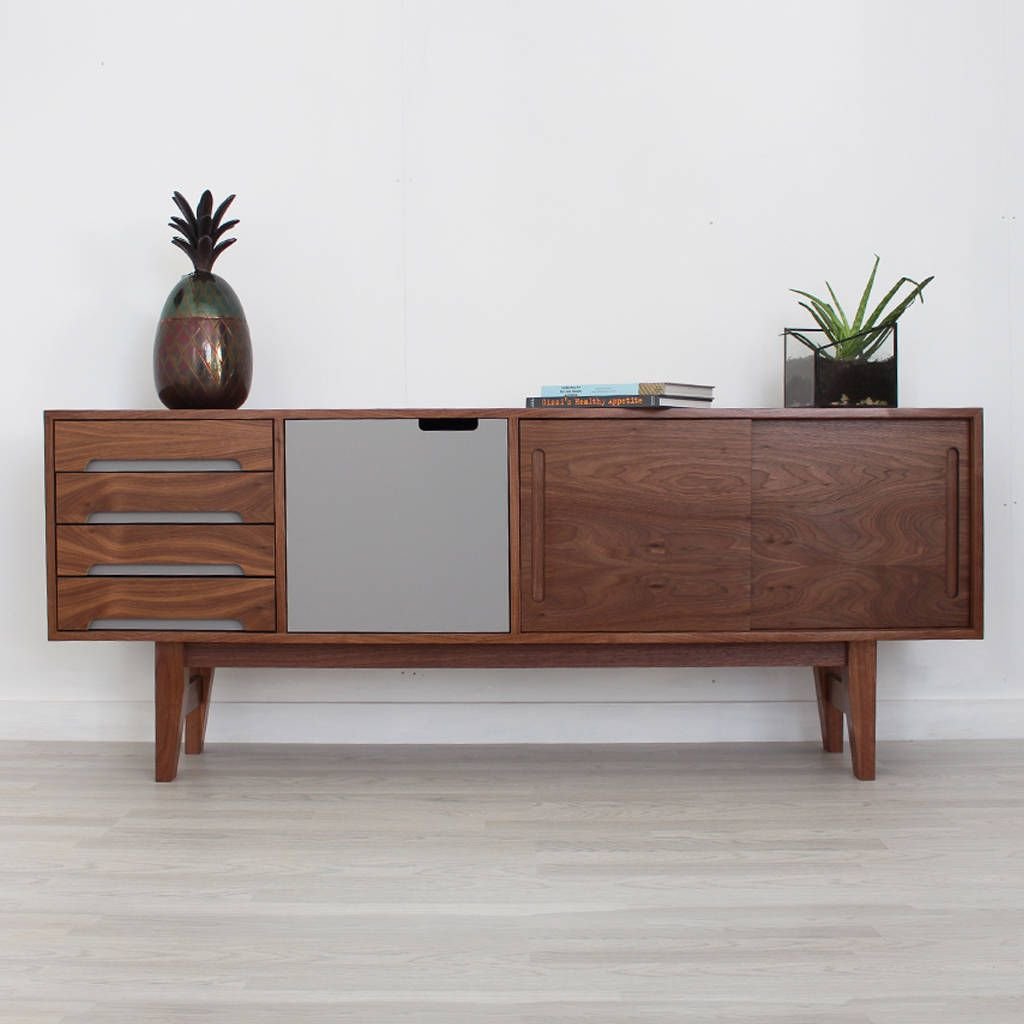Are You Interested In Our Walnut Sideboard With Handmade Wooden Need Look