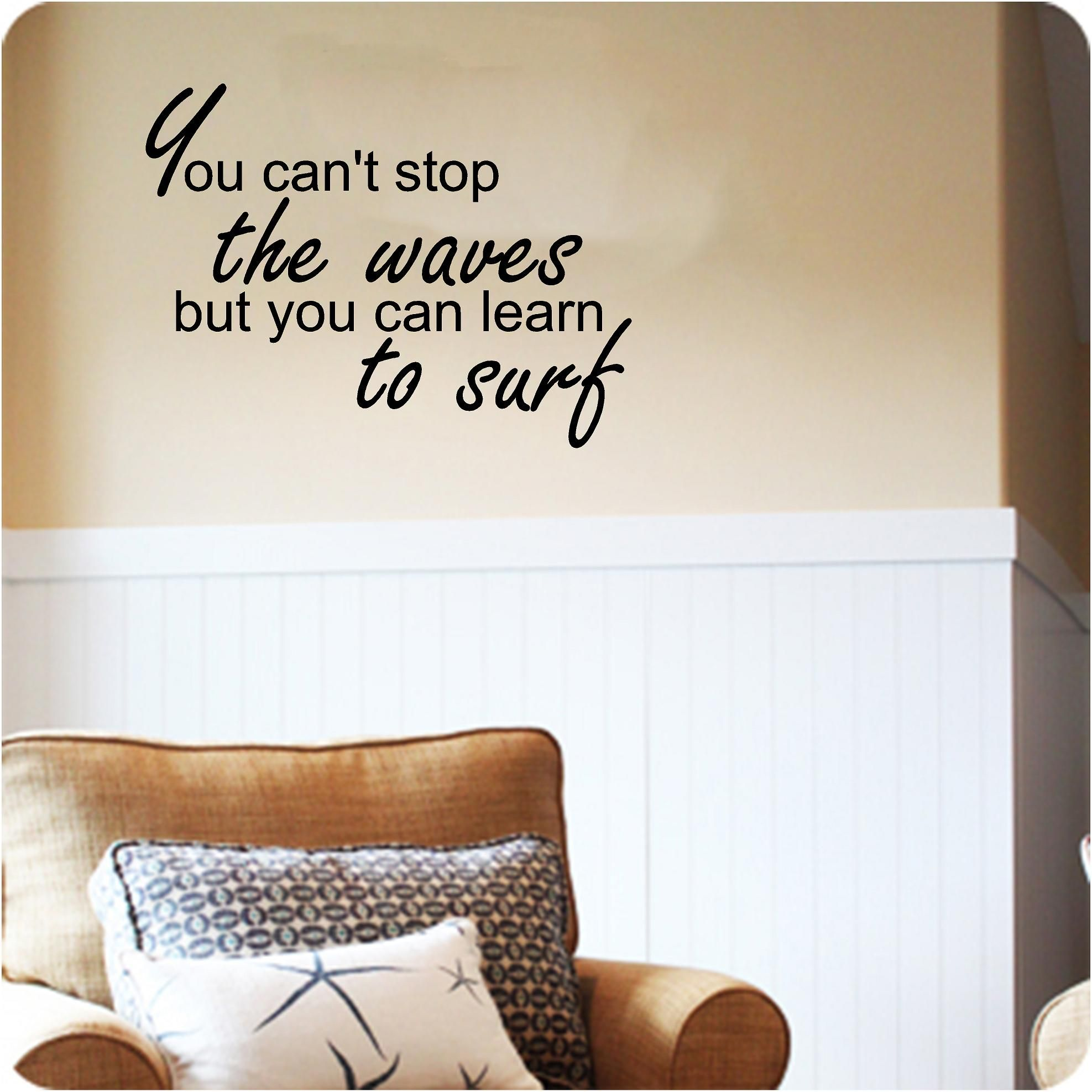 Learn to Surf Custom vinyl wall decals Stick on wall art Wall decals  sc 1 st  Pinterest & Learn to Surf Custom vinyl wall decals Stick on wall art Wall ...