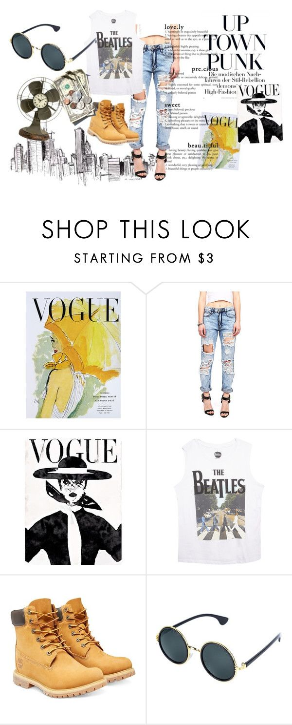 """Untitled #54"" by pollyxoxo ❤ liked on Polyvore featuring Art for Life, Wet Seal, Timberland and Dot & Bo"