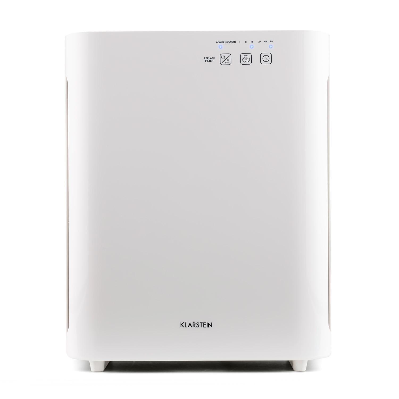 Vita Pure 2G Luftreiniger Ionisator 5-fach Filter 55W UV-C Touch weiß