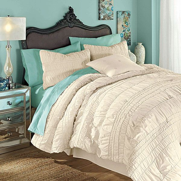 Ruffled Comforter Set From Tuesday Morning