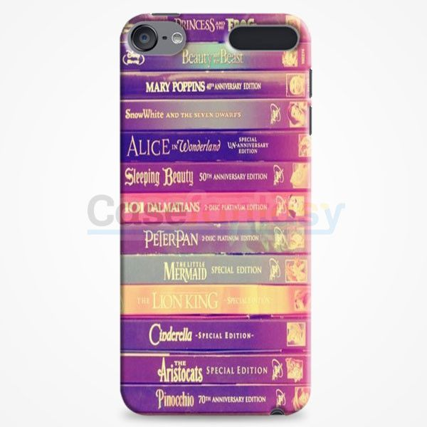 All Of Books Disney And Friends iPod Touch 6 Case   casefantasy
